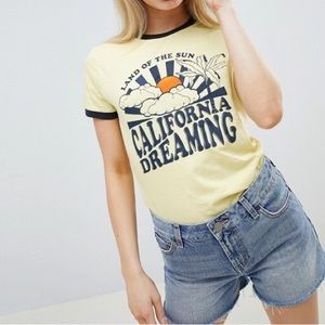 ASOS Brave Soul California Dreamin' T-Shirt